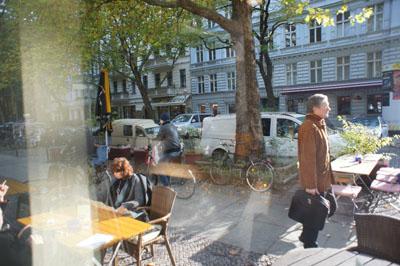Фото из окна кафе